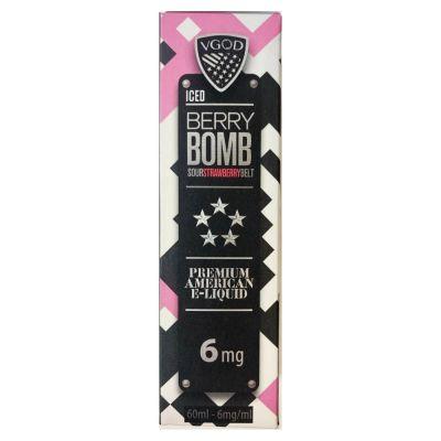 STRAWBERRY BERRY BOMB ICED - VGOD - 60ML-3mg