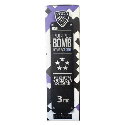 Grape Purple Bomb Iced VGOD 60mL-3mg