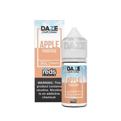 Apple Peach Iced Salt Reds Apple Daze 30mL