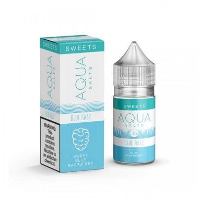 Blue Razz - AQUA Salts E-Liquid - 30mL