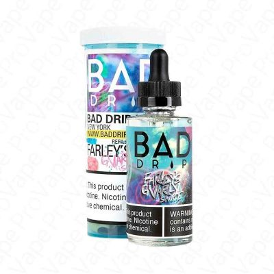 Farley's Gnarly Sauce Salt Bad Drip Labs 30mL
