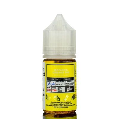 Banana Cream Pie Basix Salt Glas Vapor 30mL-30mg