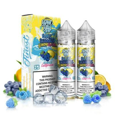 Blue Berries Lemon Swirl Ice Finest 2x60mL-0mg