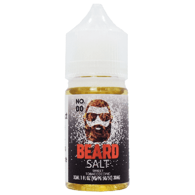 Beard Salts E-Liquid - No. 00-30mg-30ml