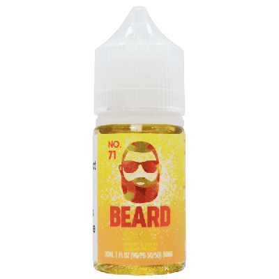 Beard Salts E-Liquid - No. 71-30mg-30ml