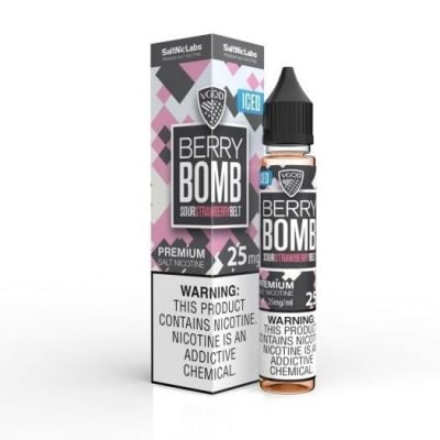 Berry Bomb Iced – SaltNic Labs – VGOD – 30mL