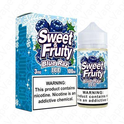 Blue Raz Ice Sweet & Fruity 100mL