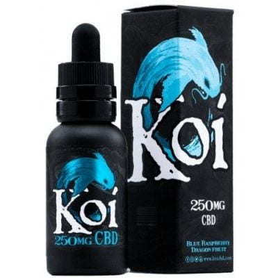 Koi CBD Blue Raspberry Dragon Fruit Vape Juice