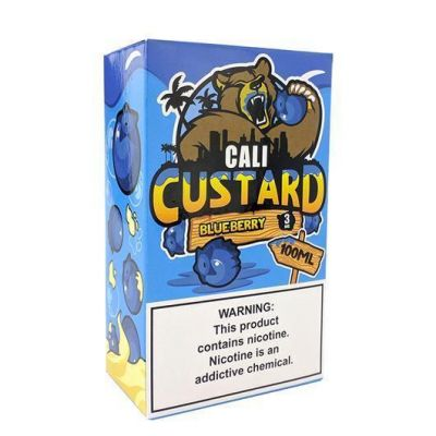 Blueberry - Cali Custard - 100mL