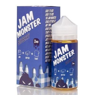 Blueberry - Jam Monster Liquids - 100mL