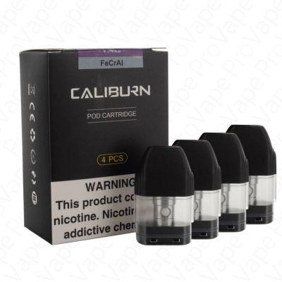 UWELL Caliburn Replacement Pod Cartridges 4PCS