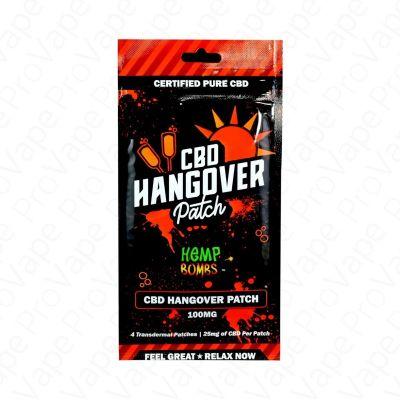 CBD Hangover Patch Hemp Bombs 4x 25mg