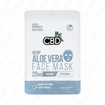 Hemp Aloe Vera Face Mask CBD FX