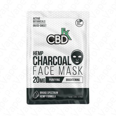 Hemp Charcoal Face Mask CBD FX