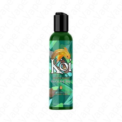 Citrus Burst Hand And Body Lotion CBD Koi 200mg