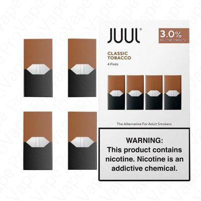 Classic Tobacco JUUL Disposable Pod 3%