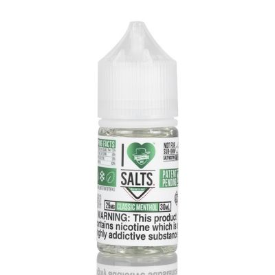 Classic Menthol - Mad Hatter Juice I Love Salts - 30mL