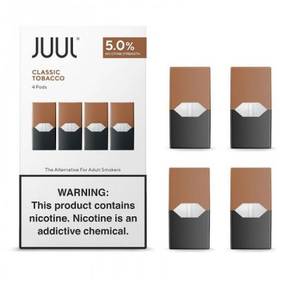 Classic Tobacco - Juul Pods - 5% Nicotine - 4-Pack