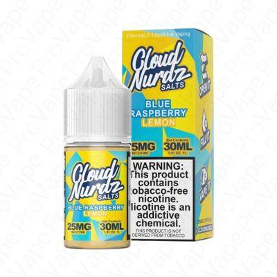 Blue Raspberry Lemon Salt Cloud Nurdz 30mL