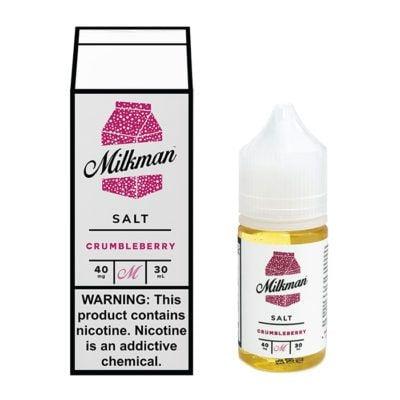 Crumbleberry Salt – The Milkman Salt – 30mL