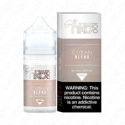 Cuban Blend Salt NKD 100 30mL