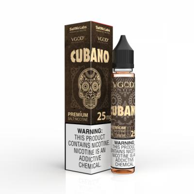 VGOD SaltNicLabs 30ml - Cubano-25mg