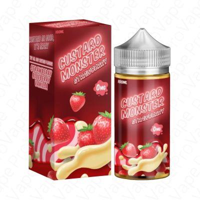 Strawberry Custard Monster 100mL