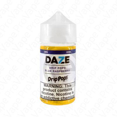 Blue Raspberry Drip Pops 7 Daze 60mL