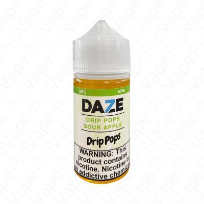 SOUR APPLE - DRIP POPS - 7 DAZE - 60ML