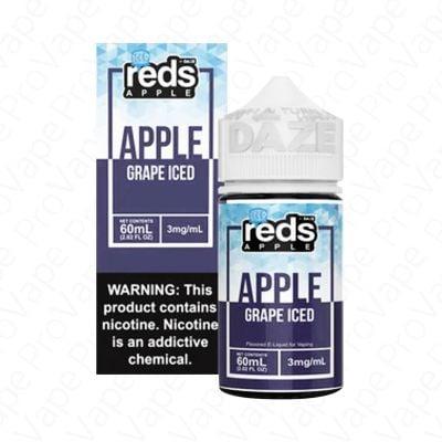 Grape Iced Reds Apple 7 Daze 60mL