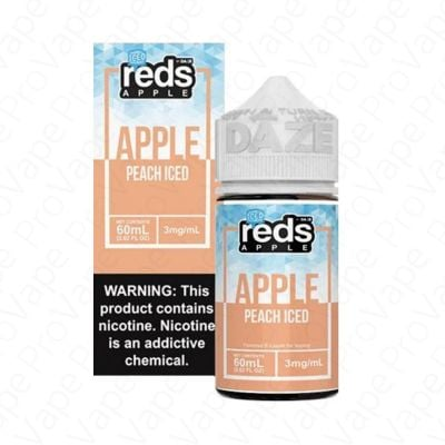 Apple Peach Iced Reds Apple Daze 60mL