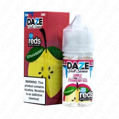 Strawberry Iced Reds Apple 7 Daze 30ML