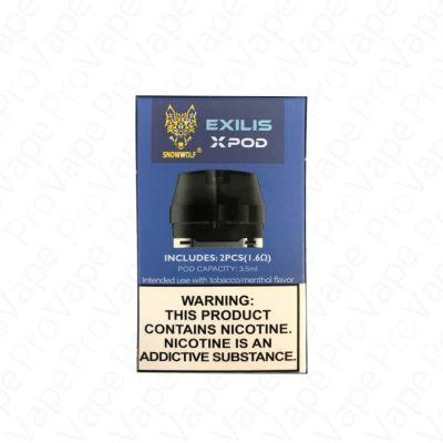 SnowWolf Exilis XPod Cartridge 2PCS