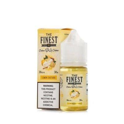 Lemon Custard Salt The Finest 30mL
