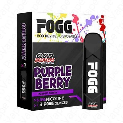 Purple Berry Cloud Breakers Disposable Device 5.0% FOGG 3PCS