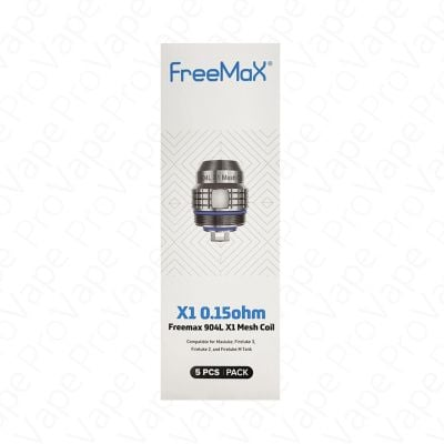 FreeMax 904L Replacement Coils 5PCS