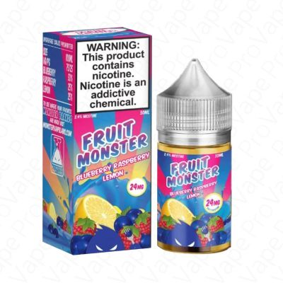 BLUEBERRY RASPBERRY LEMON - SALT - FRUIT MONSTER - 30ML-24mg