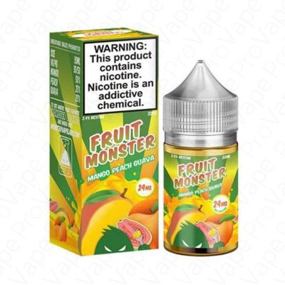 MANGO PEACH GUAVA - SALT - FRUIT MONSTER - 30ML-24mg