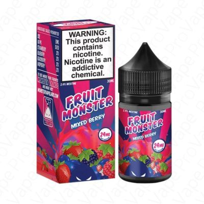 MIXED BERRY - SALT - FRUIT MONSTER - 30ML-24mg