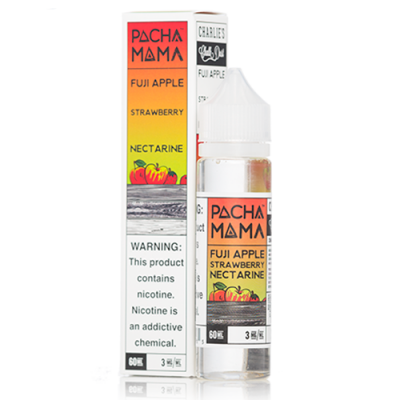 Pachamama 60ml - Fuji Apple Strawberry Nectarine-3mg