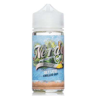 Get Lei'd Chilled Out – Nerdy e-Juice – 100mL