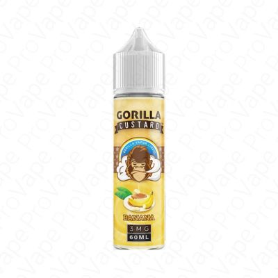 Banana Gorilla Custard 60mL