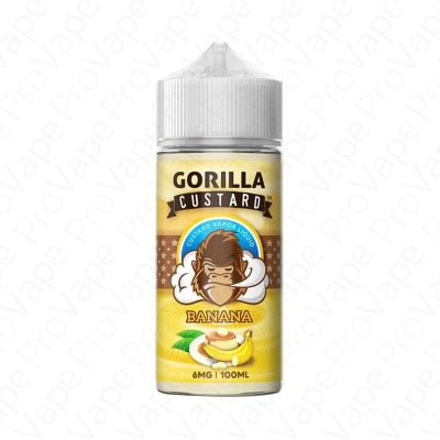 Banana Gorilla Custard 100mL