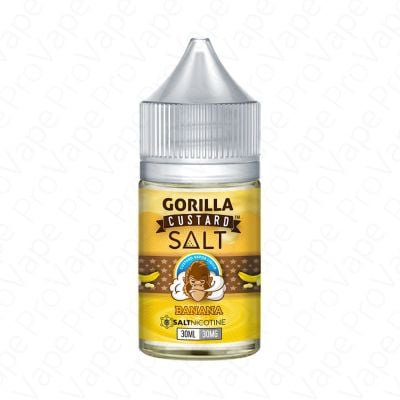 Banana Salt Gorilla Custard 30mL