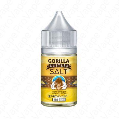ORIGINAL - SALT - GORILLA CUSTARD - 30ML-30mg
