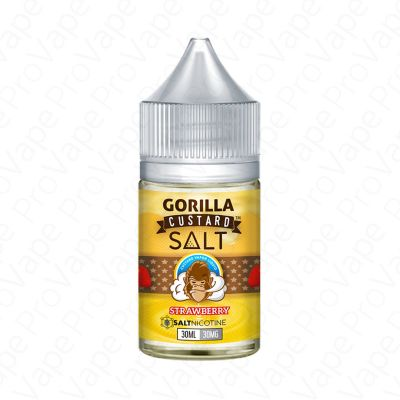 Strawberry Salt Gorilla Custard 30mL