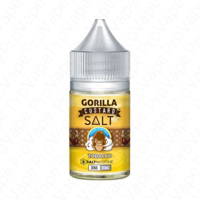 Tobacco Salt Gorilla Custard 30mL