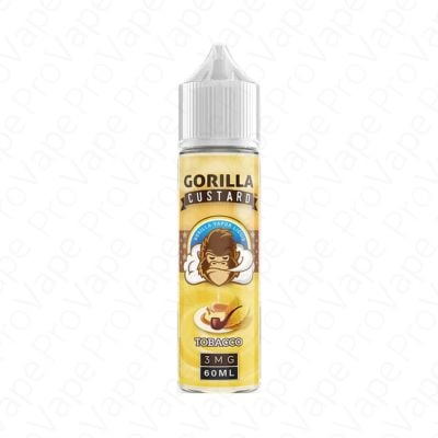 Tobacco Gorilla Custard 60mL