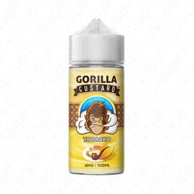 Tobacco Gorilla Custard 100mL