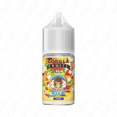Rose Gold Ice Salt Gorilla Fruits 30mL